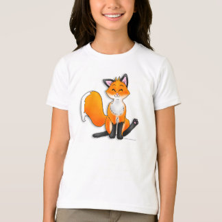 Fox tshirt for girls