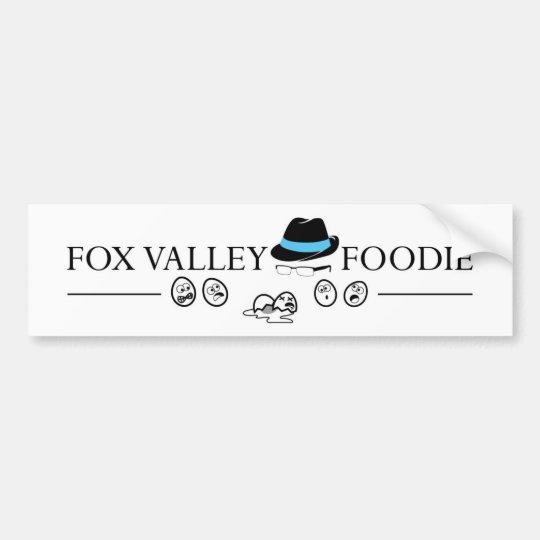 Fox Valley Foodie Bumper Sticker