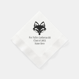Fox Valley Lutheran High School Graduation Disposable Napkin