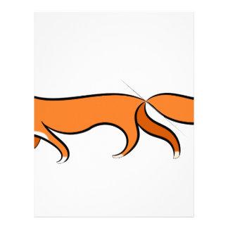 Fox Walking Letterhead