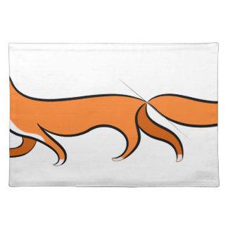 Fox Walking Placemat