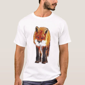 Fox Watercolor T-Shirt