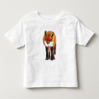 Fox Watercolor Toddler T-shirt