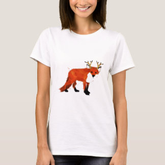Fox Watercolour T-Shirt