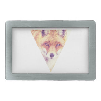 Foxe Eyes Rectangular Belt Buckle