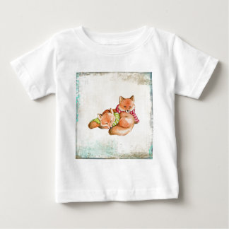 Foxes Baby T-Shirt