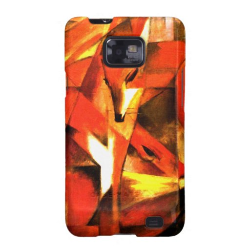 Foxes by Franz Marc Fine Art Galaxy S2 Covers