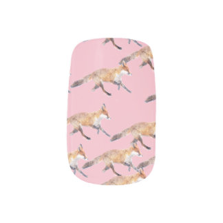 Foxes galore all naildecals top bywhacky minx nail art
