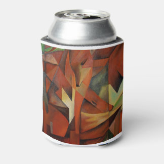 Foxes -  Homage to Franz Marc (1913) Can Cooler
