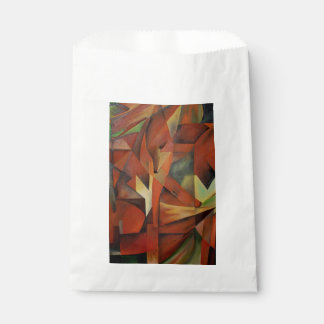 Foxes -  Homage to Franz Marc (1913) Favour Bag