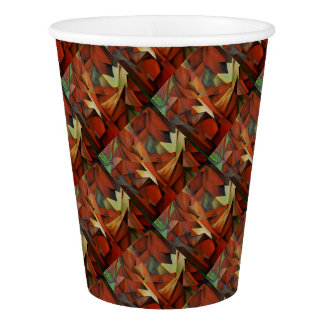 Foxes -  Homage to Franz Marc (1913) Paper Cup