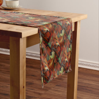 Foxes -  Homage to Franz Marc (1913) Short Table Runner