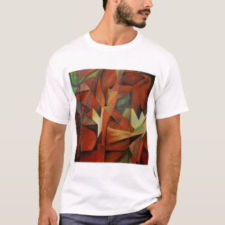 Foxes -  Homage to Franz Marc (1913) T-Shirt