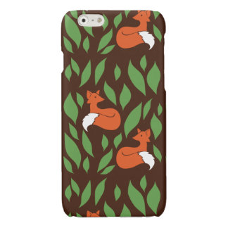 Foxes in the Woodland pattern
