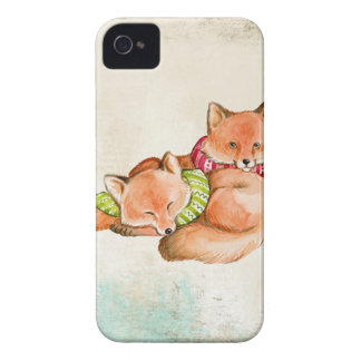 Foxes iPhone 4 Covers