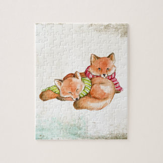 Foxes Jigsaw Puzzle