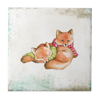 Foxes Tile