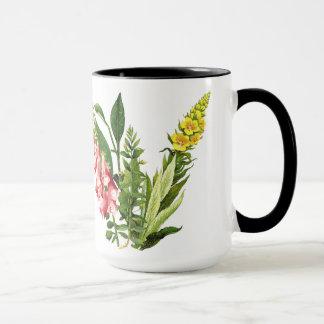 Foxglove Flowers Floral Garden Mug