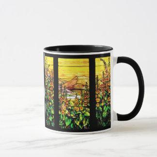 Foxglove Garden Stained Glass Mug