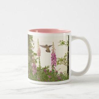 Foxglove & Hummingbirds Mug