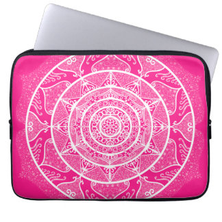Foxglove Mandala Laptop Sleeve