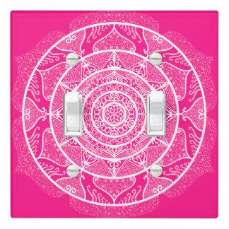 Foxglove Mandala Light Switch Cover