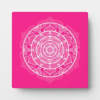 Foxglove Mandala Plaque