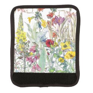 Foxglove Poppy Crocus Flowers Luggage Handle Wrap
