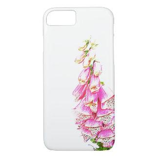 Foxglove Print iPhone 8/7 Case