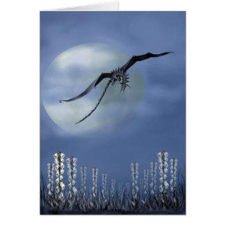 Foxgloves by Moonlight Card