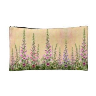 Foxgloves design makeup bags