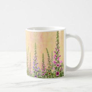 Foxgloves Digitalis Coffee Mug