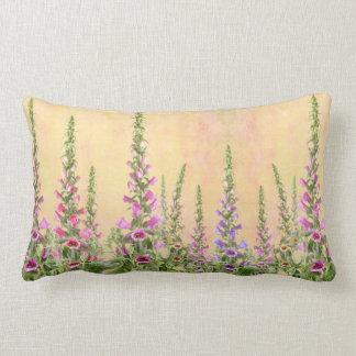 Foxgloves Lumbar Pillow
