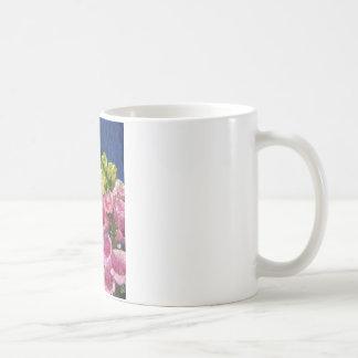 Foxgloves on texture coffee mug