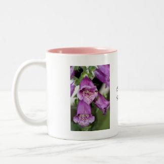 Foxgloves Two-Tone Mug