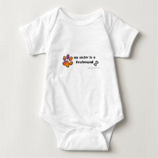 foxhound baby bodysuit