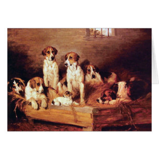 Foxhounds and Terriers Card