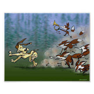 Foxhunt Print