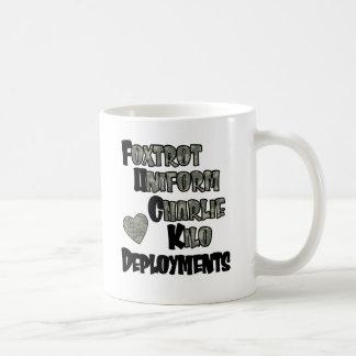 Foxtrot Deployments 2 Coffee Mug