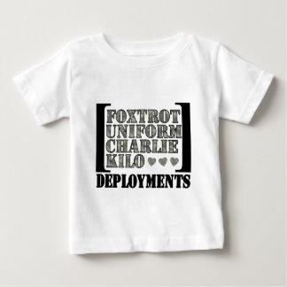 Foxtrot Deployments Baby T-Shirt