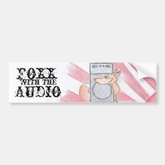 foxx sticker