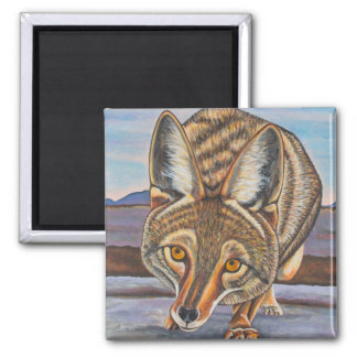 Foxy Coyote Magnet