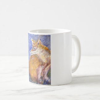 Foxy evening coffee mug