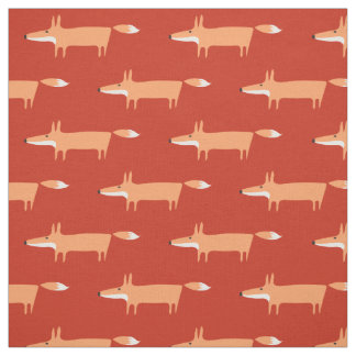 Foxy fabric: Rust Fabric