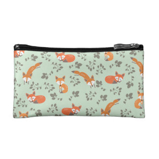 Foxy Floral Bag Cosmetic Bag
