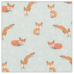 Foxy Floral by Origami Prints Fabric