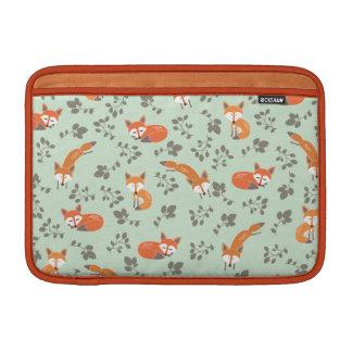 Foxy Floral Macbook Air Sleeve