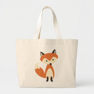 Foxy Fox Large Tote Bag