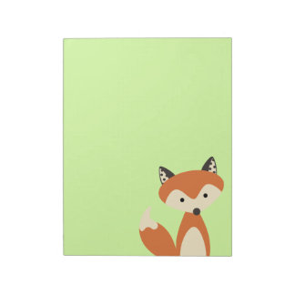 Foxy Fox Notepad