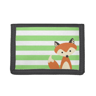 Foxy Fox Trifold Wallets